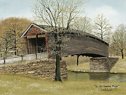 Art Print, Framed Or Plaque By Billy Jacobs - The Old Humpback Bridge - Bj1047