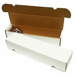 25 Storage Boxes Lot 800 Count Ct Sports Cards Trading White Max Pro Shipping
