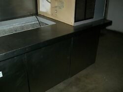 Sandwich Prep Table, 5 Ft.lid,new Cutting Board,casters,115v,900 Items On E Bay