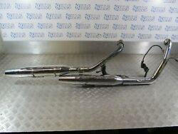 Harley Davidson Fxdc Superglid 2010 Exhaust Full System 3461