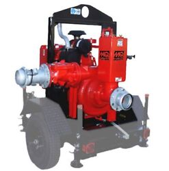 Multiquip AP8TB Priming Trash Pump 8