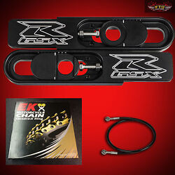 2001 Ultimate Gsxr 600 Swingarm Extensions Kit Ek Zvx3 525 Chain Brake Line