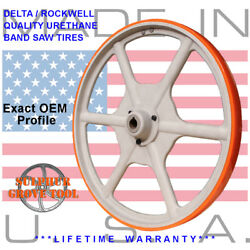 Delta 28-345 Type 1 20 Urethane Band Saw Tires Rplcs 2 Oem Parts 426040945002