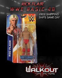 ric flair wwe mattel basic series 48