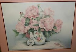 Glynda Turley Petals In Pink Limited Edition Signed Large Lithograph