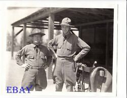 William Boyd His First Command Vintage Photo