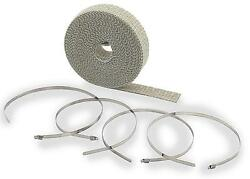 Accel High-temperature Exhaust Wrap Kit Tan - 1in. X 50ft. 2001ta