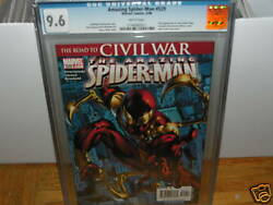 Amazing Spider man 529 CGC 9.6 NEW IRON COSTUME ALMOST 9.8