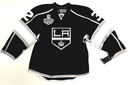 Jonathan Quick La Kings 2014 Cup Canada Edge Authentic Reebok Nhl Jersey 7187a