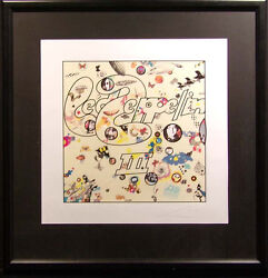 Peter Corriston Led Zeppelin Iii Rock Album Cover Giclee On Paper Hand Signed