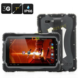 T70 7.0 Inch Phablet Android 4.2 Ip66 Waterproof Rugged Tablet Pc 3g Phone Call