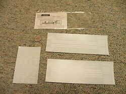 Walthers Decals O Gauge Caboose 325-06 Conrail White  M134