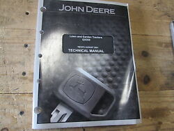 Used John Deere Technical Manual Tm1974 Lawn And Garden Tractor Gx355