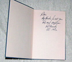 Signed+ In Critical Condition Edward Ted Kennedy 1st Ed. 1972 Health Care Usa