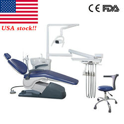 Computer Controlled Dental Unit Chair Thermostatic Water&Dentist Stool *TAX Free