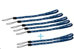5 New genuine Nintendo Wii Remote control strap lanyard 2 extra for Free