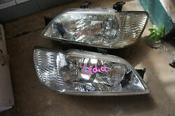 JDM 01-03 Mitsubishi OEM Cedia Lancer GDI CS5A CS5W Headlights Headlamps
