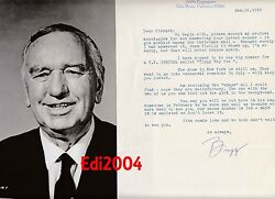 Busby Berkeley Vintage Original Photo And Autograph Letter And Card Rare Lamparski
