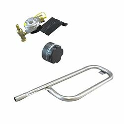 Weber Baby Gas Grill Replacement Knob, Tube Burner, And Baby Q Valve And Regulator