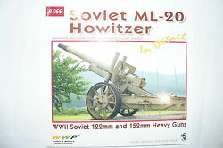 Ww2 Russian Soviet Ml-20 Howitzer In Detail R 066 122mm And 152mm Reference Book