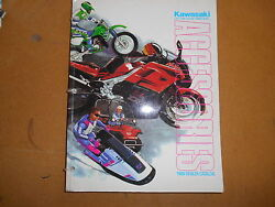 1989 Kawasaki Accessories Dealer Catalog And Price Guide K99989-acc