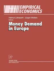 Money Demand In Europe By H. Lutkepohl English Hardcover Book Free Shipping