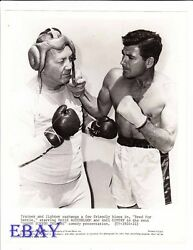 Race Gentry barechested boxer VINTAGE Photo Maxie Rosenbloom Damon Runyon Theatr