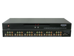 4x2 4:2 Component Video DigitalAnalog Audio Matrix Switcher with RS-232 SB-5526