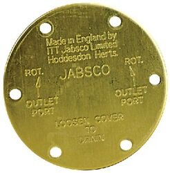 New Jabsco Plumbing Parts And Accessories 11831-0000 End Cover