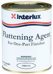 New Flattening Agent For One Part Finishes Interlux Yma715/q Flattening Agent Qu