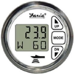 New Digital Depth Sounder With Air And Water Temperature Faria Instruments 13852 C