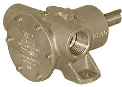 New Pulley Driven Engine Cooling Pump Jabsco 777-9001 17.8@1500rpm Gpm Ports 1