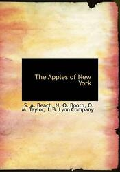 Apples Of New York By S. A. Beach English Paperback Book Free Shipping