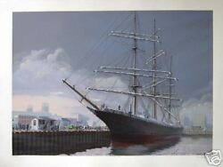 Pete Peterson In From The Horn Ocean Art Hand Signed Serigraph Artwork Listed