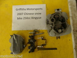 07 Chinese Snow Bike Snowmobile Xingyue 250 Motorcycle Cylinder Head Valves Cove