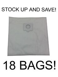18 Type Q Bags For Kenmore Vacuum 5055, 50558, 50557 Hepa Cloth Canister 433934