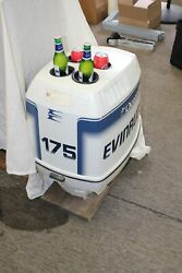 Art Table 94 - 98 Evinrude 175 Engine Cover Ocean Pro Cowling Custom Patio Cowl