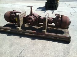 Fwd Corp Seagraves Front Driving Steer Axle Part Number 531073 Overhauled