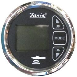 New Digital Depth Sounder With Air And Water Temperature Faria Instruments 13752 C