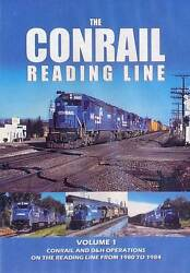 Conrail Reading Line Volume 1 Dvd New Pechulis Lehigh Valley Railroad Anthracite
