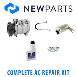 For Chrysler Pt Cruiser 01-03 2.4l Full A/c Repair Kit W/ Compressor And Clutch