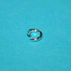 Wholesale Lots 925 Sterling Silver 5mm Open Jump Rings 1mm 18 Gauge Thick