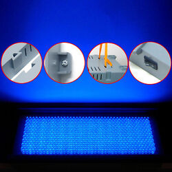 711 Led Tri-band Blue Red White Hydroponic Grow Light Panel+adaptor 30w 225/110v