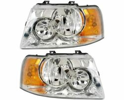 Four Winds Hurricane 2010 2011 2012 Pair Headlights Head Lights Front Lamps Rv