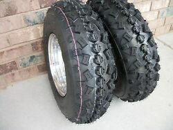 2 Tire Wheel Rim Kit 6 Ply Front 21x7-10 Can-am Ds450 450