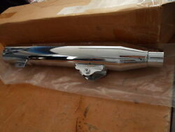 Nos Harley Davidson Exhaust Pipes Muffler 2008-up Dyna Fatboy Fxd 64705-08