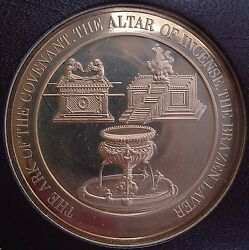 Thomason Medallic Bible 26 The Ark Of The Covenant. Franklin Mint Bronze Medal
