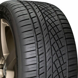 4 NEW 21555-17 CONTINENTAL EXTREME CONTACT DWS06 55R R17 TIRES 32204