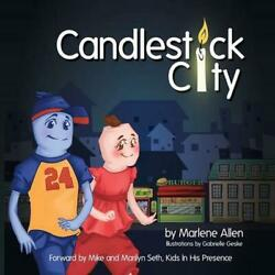 Candlestick City by Marlene Allen English Paperback Book Free Shipping