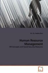 Human Resource Management Hr Concepts And Social Security Measures By Seetha Ra